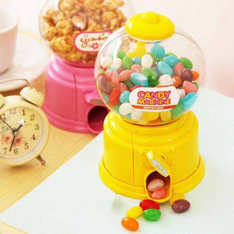 Coreano doces doces máquina de venda automática piggy bank caixa de depósito de poupança de dinheiro das crianças alcancia piggy caçoa amantes presente