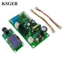 KSGER pistola de aire caliente para bricolaje herramientas eléctricas, secador, estación de soldadura, controlador STM32 OLED T12, puntas de hierro, boquillas de manillar de soldadura