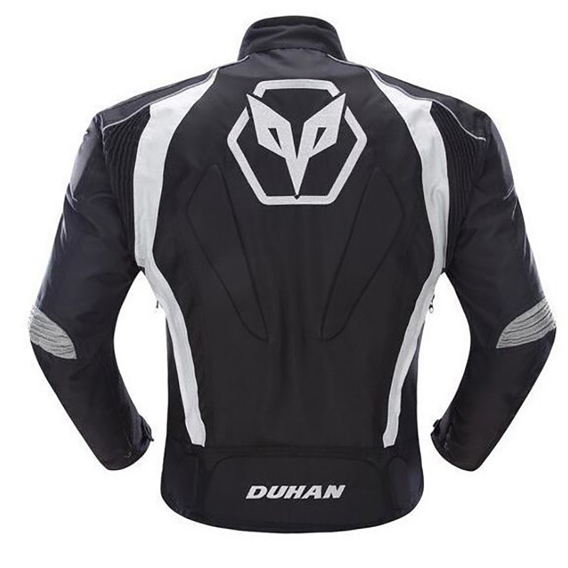 Duhan MOTO JACKET D089 motorcycle jacket men 5 Protective Gears capacete motocross full body armor protection