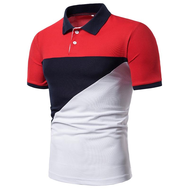 Men 2019 summer fashion Camisa   Polo   shirt high quality short sleeve Men's   Polo   shirt brand breathable