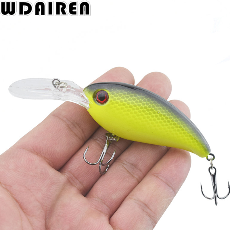1Pcs 14g 10cm Crankbait Fishing Wobblers Artificial Hard bait Bass Spinner Fishing Lures Pesca 17 Colors winter tackle WD-198 trulinoya 6cm 16g fly fishing lure vmc hook fishing hard bait crankbait wobblers artificial bait for sea carp fishing pesca