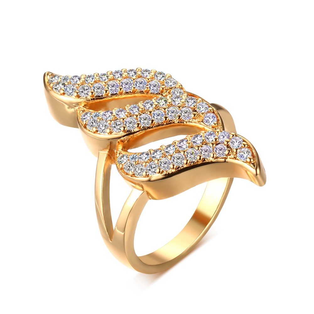 Anillos Limited Hot Sale Fashion Simulated Ring Exclusive Plated Rings Jewelry For Women Engagement Rt-016