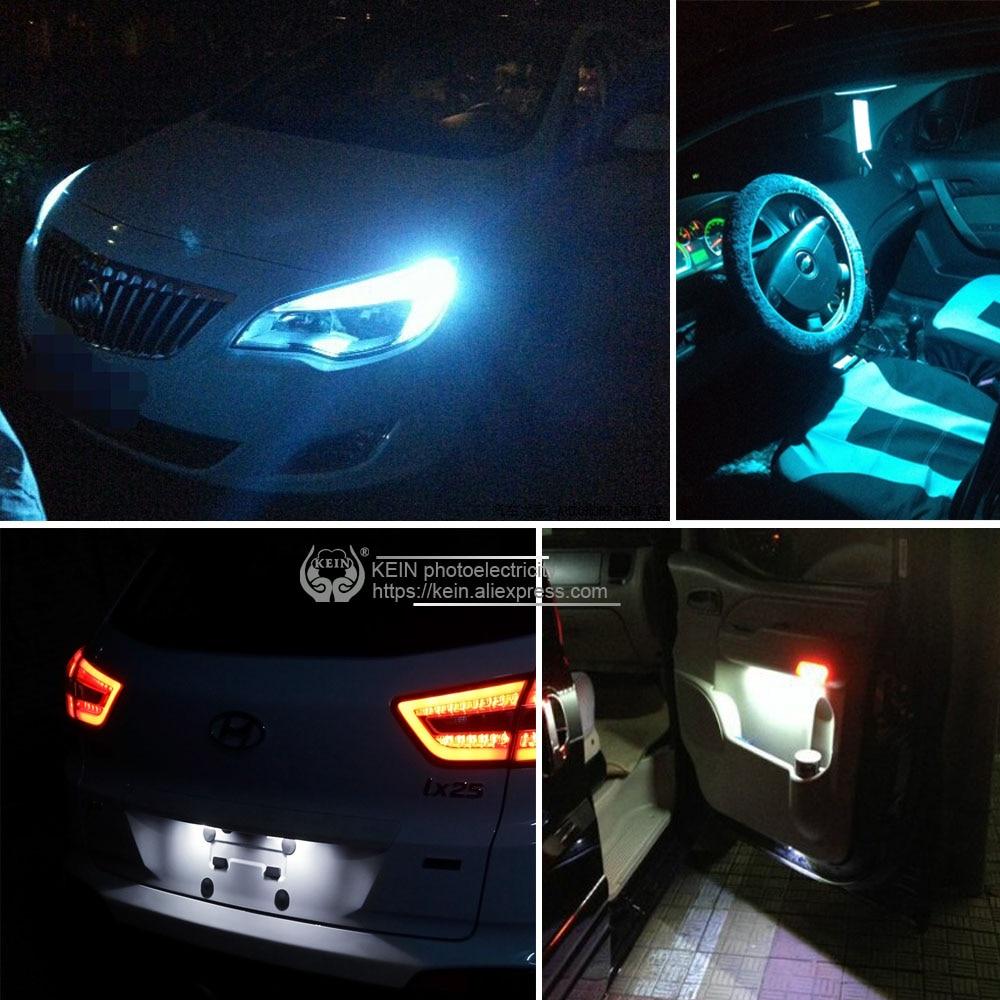KEIN 2 개 T10 LED 전구 w5w 194 Canbus 3030 순수한 흰색 - 자동차 조명 - 사진 6