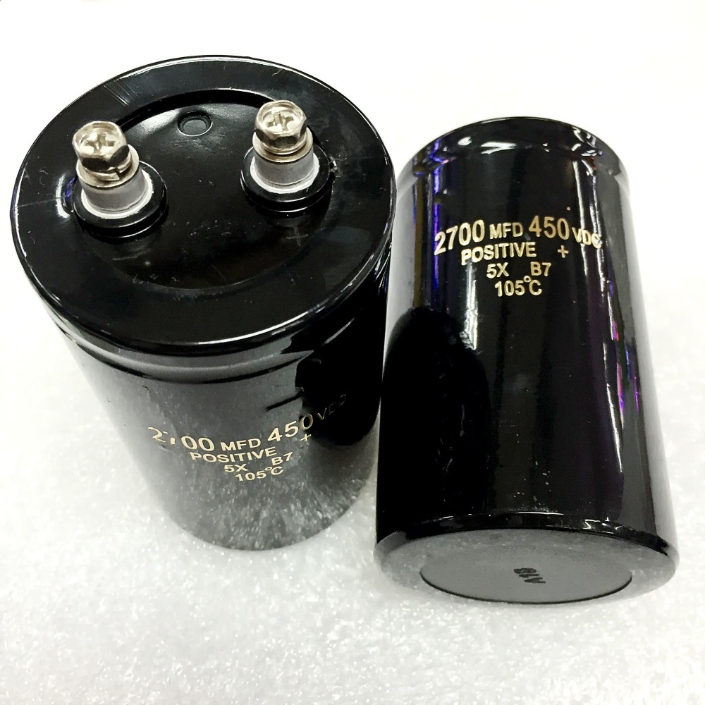 Free Shipping 2700uf 450v Electrolytic Capacitor 65mmx105mm