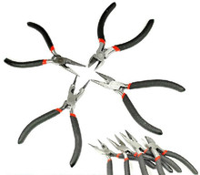 1 PCS Mini Multi-function Nose Pliers Jewelry Making Repair Crafts Tool Pliers  fc204