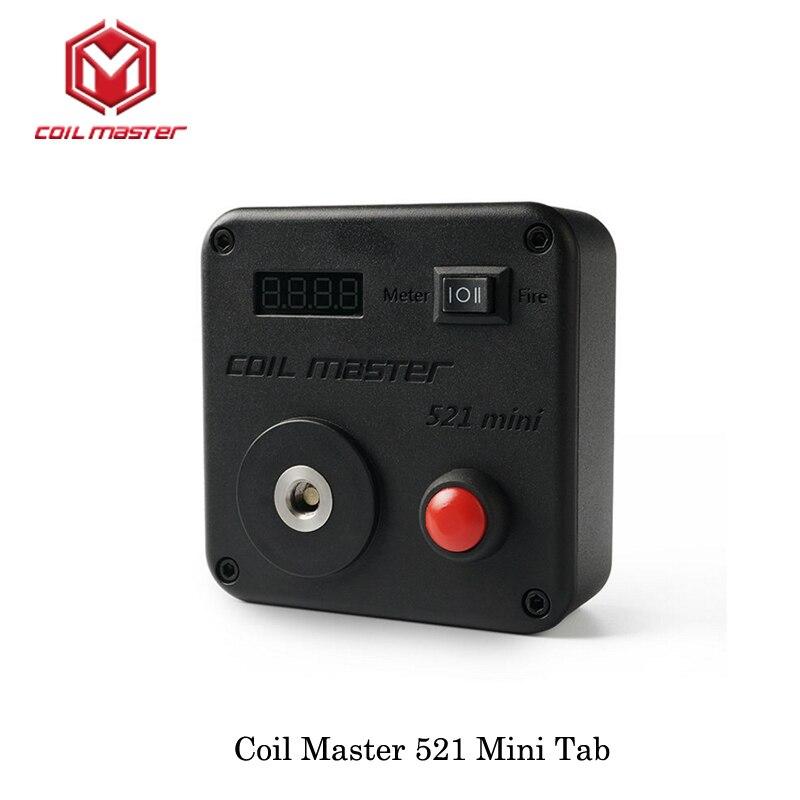 Катушка Мастер 521 мини Tab вызвано одной батареи 18650