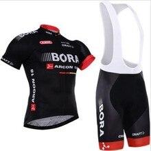 2017 BORA Cycling team jersey bike shorts set Ropa Ciclismo mens summer pro cycling wear ride maillot Culotte