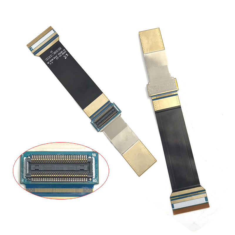 High Quality LCD Connector Flex Cable Ribbon Compatible For Samsung B5702 GT-B5702 Mobile Parts Replacement