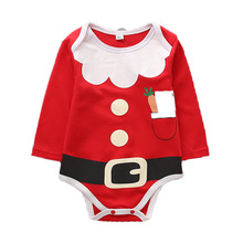 Child Christmas Clothes Garments Child Romper
