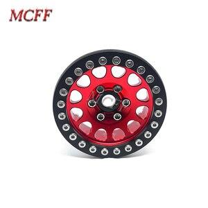 Image 5 - 4Pcs Metal RC Rock Crawler 1.9 Inch Beadlock Wheel Rim Hub  For 1/10 Axial SCX10 90046 TAMIYA CC01 D90 D110 TF2 Traxxas TRX 4