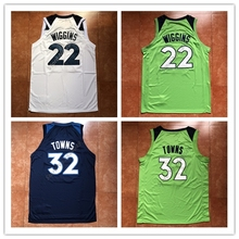 New Mens  22 Andrew Wiggins  23 Jimmy Butler  32 Karl Anthony Towns  Throwback Basketball A US Size S-XXL Best Quality 7b92e6715