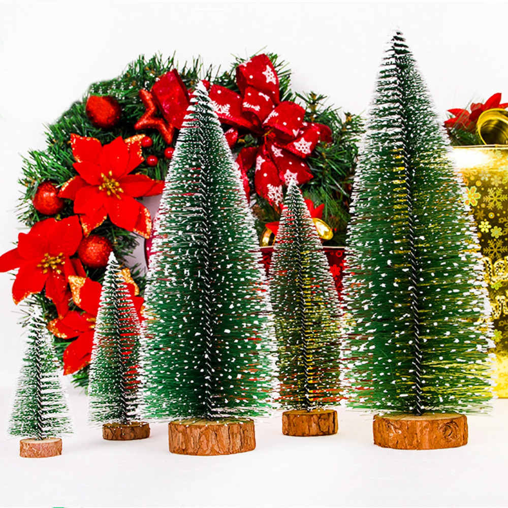 product - Wooden Christmas Tree Decorations