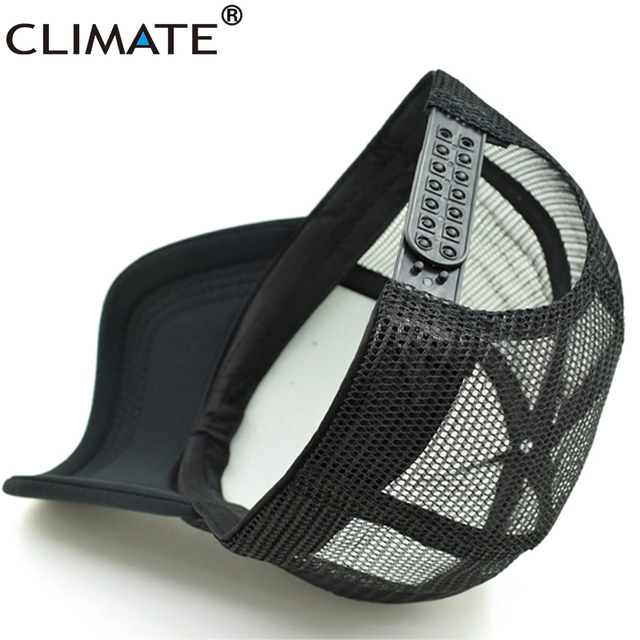 CLIMATE Men New Cool Trucker Caps HRC Honda Racing Car Motorcycle Fans Cap Cool Summer Baseball Mesh Net Hip Hop Cap Hat For Men 5