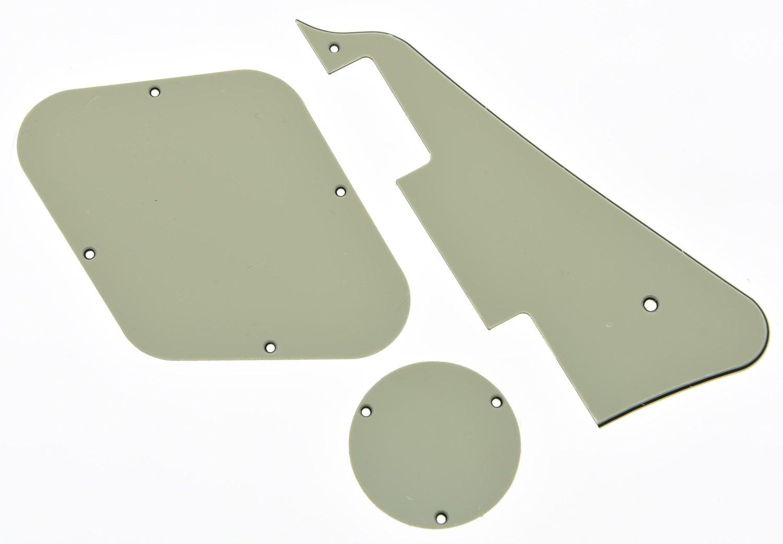 KAISH couvercle de cavité de commutateur de plaque de Pickguard et de plaque arrière blanc vieilli convient pour Les épiphone Paul