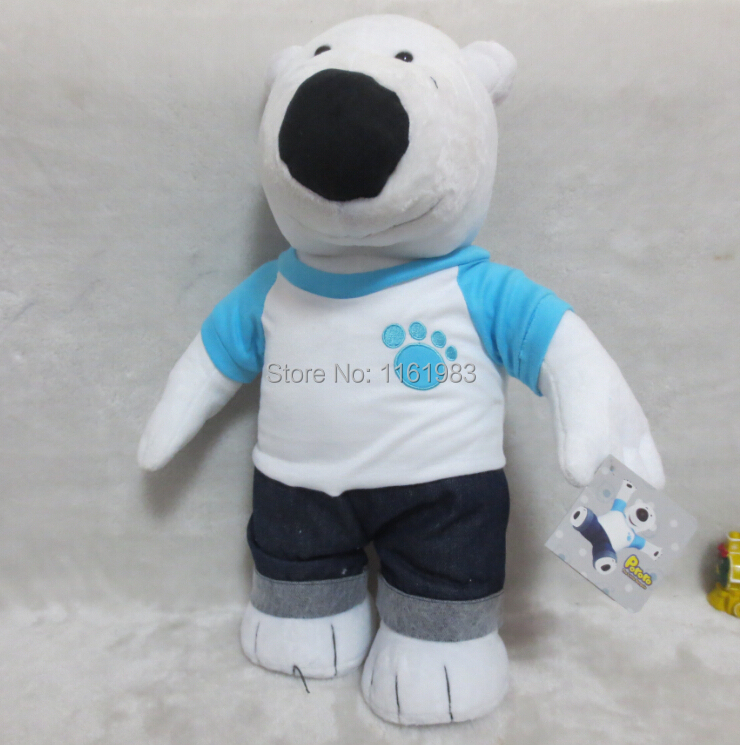 Original Pororo plush toys Polar Bear POBY 44cm stuffed soft toy dolls toys for children