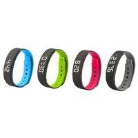 Nieuwste Beste Prijs Sport Stappenteller Sleep Monitor Smart Horloges Armband Ondersteuning Smartphone PC APP Gratis Verzending NOM23