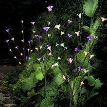 3 шт. садовые лампы для газона, стильные ветви, ветки, ветки, листья, солнечные уличные садовые 60 теплых белых светодиодные лампы для дома, лампы для газонов