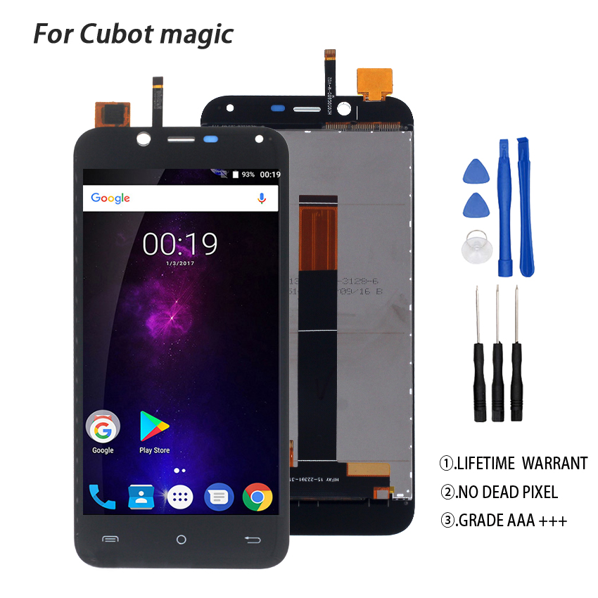 Original For Cubot Magic LCD Display Touch Screen Digitizer Phone Parts For Cubot Magic Screen LCD Display