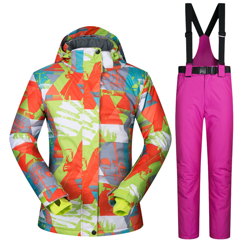 High Quality Winter Skiing Suit Women Snowboard Wear Snow ...