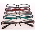 Gafas redondas mujeres Vidrios Ópticos TR90 Material Flexible Optometrista Gilr y Chico de Moda gafas de grau Gafas de Marco Rojo