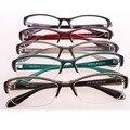 Rodada Óculos mulheres Optical Óculos TR90 Material Flexível Optometrista Gilr e Menino Moda oculos de grau Óculos de Armação Vermelha