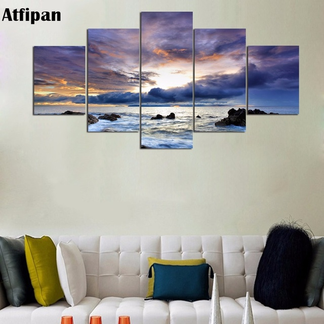 Atfipan New Fallout Wall Pictures For Living Room Framed Canvas Oil ...