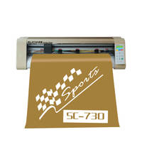 24 inch Vinyl Sign Sticker Cutter Plotter With Automatic Contour Cut Function Cutting Machine