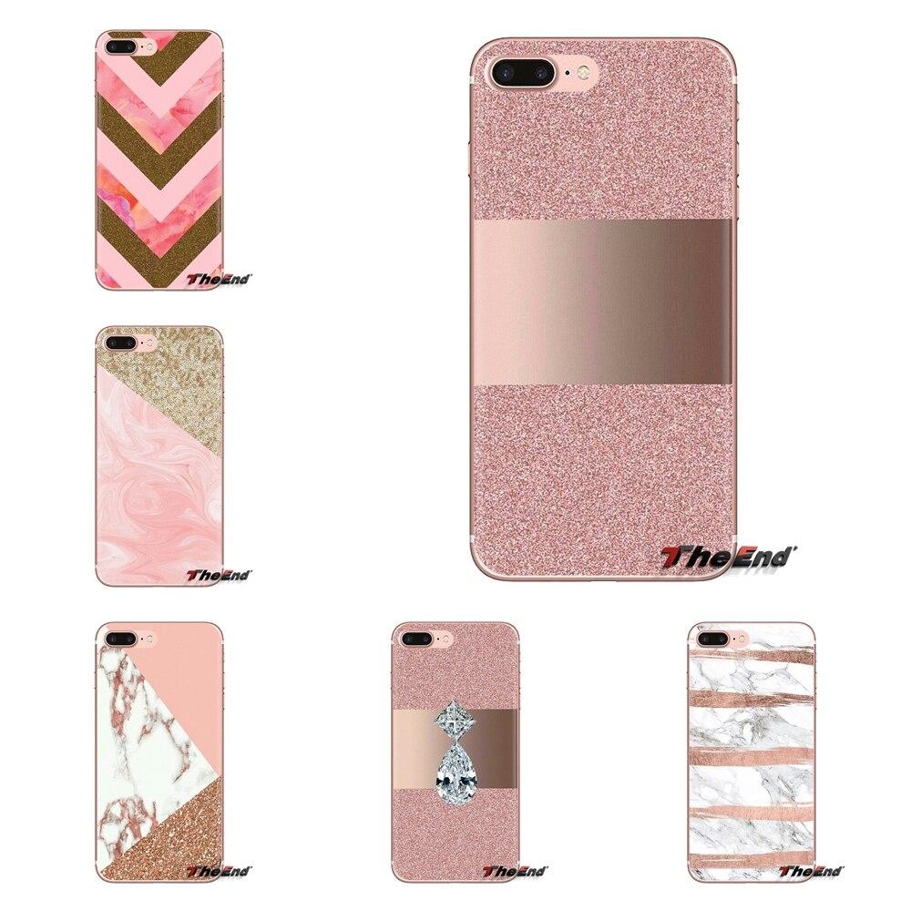 Housing-Case Phone Rose Glitter Pink Gold Mi A1 Mi6 9-Lite Xiaomi Mi4 Mi5 For A2 5x6x/8/9-lite/..