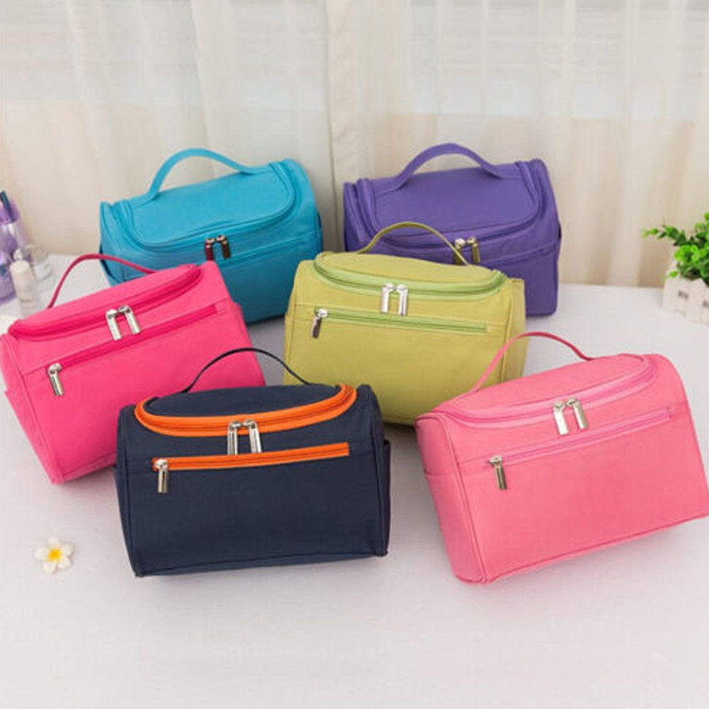 2019 NEW Classic Professional Women's Cosmetic Case Large Capacity Multi-functional Fashion Makeup Bag Travel Handbag