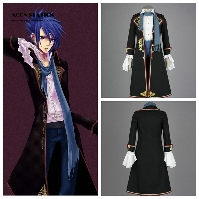 2018 Free Shipping Hatsune Miku KAITO Kids Cosplay Costume Customize for plus size adults and kids & 2018 Free Shipping Hatsune Miku KAITO Kids Cosplay Costume Customize ...