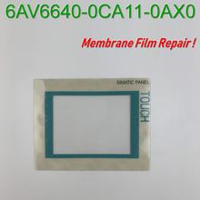 TP177A 6AV6642 6AV6 642-0AA11-0AX0/0AX1 Touch Screen Glass+Protective Film for SIMATIC HMI Panel repair,Have in stock