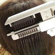 Connecteur professionnel 6D/salon de coiffure, outils de coiffure/machine pour extensions de cheveux 6D/connecteur de perruque, outils dextension de perruque