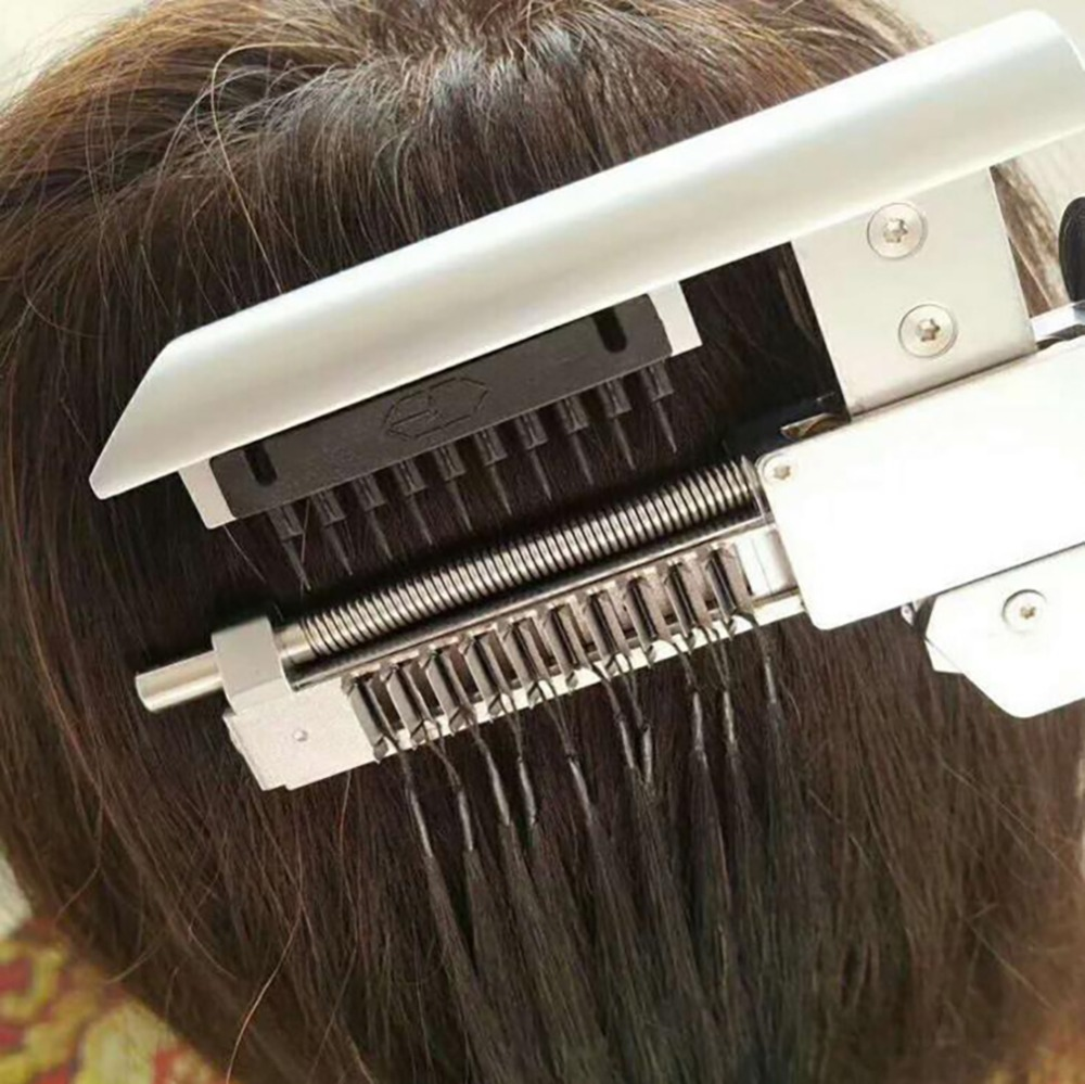Top professionnel 6D cheveux connecteur/salon de coiffure de cheveux outils/6D extension de cheveux machine/Perruque connecteur/ perruque extension outils