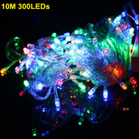 Fabrika Toptan doğrudan LED dize 300 Led 30 M 110 V/220 V Dekorasyon Işık Noel Partisi Düğün 5 Renkler
