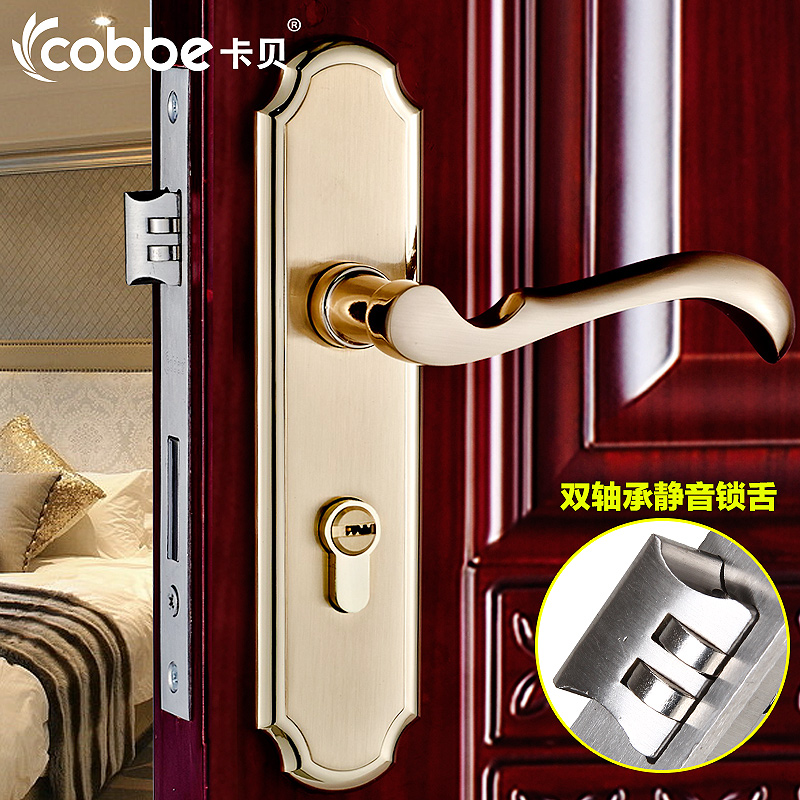 Lhx cmms200 european high quality security indoor bedroom - Door handles with locks for bedrooms ...