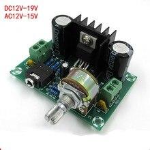 18 W DC12-19V o AC12-15V Mono tablero del amplificador TDA2030A tablero del amplificador de audio Monoaural