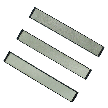 Professional Fixed Angle Diamond Kitchen Knife Sharpener Stones Whetstone 240# 600# 1000#  3 Pcs a Set