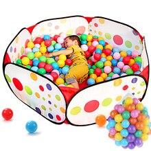 Новое ограждение для безопасности ребенка, складной детский манеж, игровой бассейн, портативная детская игровая палатка, детская ограда
