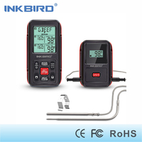 Inkbird Remote Cooking Wireless Thermometer 1000 Feet For BBQ Grill Oven Smoker With Food Grade Probes