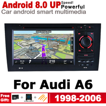 IPS Android Car DVD GPS For Audi A6 4B 4F 1998~2006 MMI HD Touch Screen Navigation Multimedia Player Stereo Radio WiFi System цена