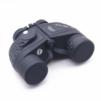 BLACK BOSTRON 10X50 Telescope Night Vision Navy Binoculars With RANGEFINDER and Electronic backlit Compass RETICLE illuminant