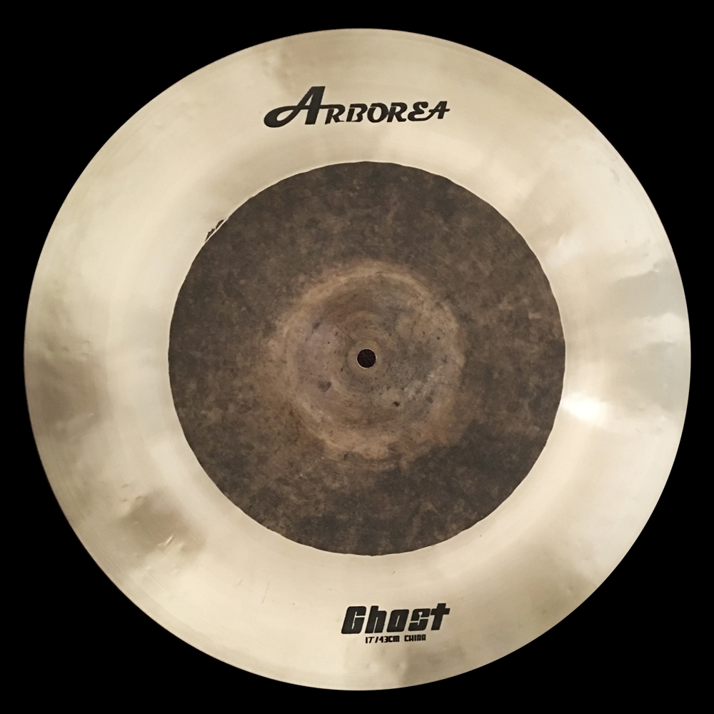 Arborea B20 cymbal, Ghost 17 China cymbal arborea ghost cymbal set on sale