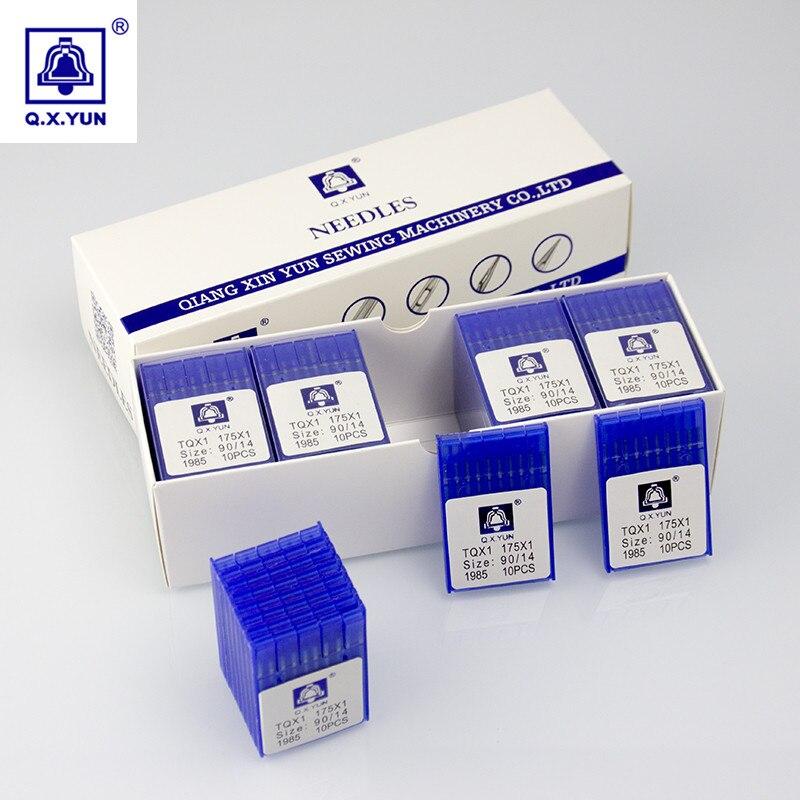 130//21 10 x 75//11 90//14 100//16 110//18 10 agujas de m/áquina de coser para el hogar 75//11