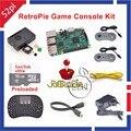 16 ГБ RetroPie Игровой Консоли Комплект с Raspberry Pi 3 Модель B SNES Контроллеров