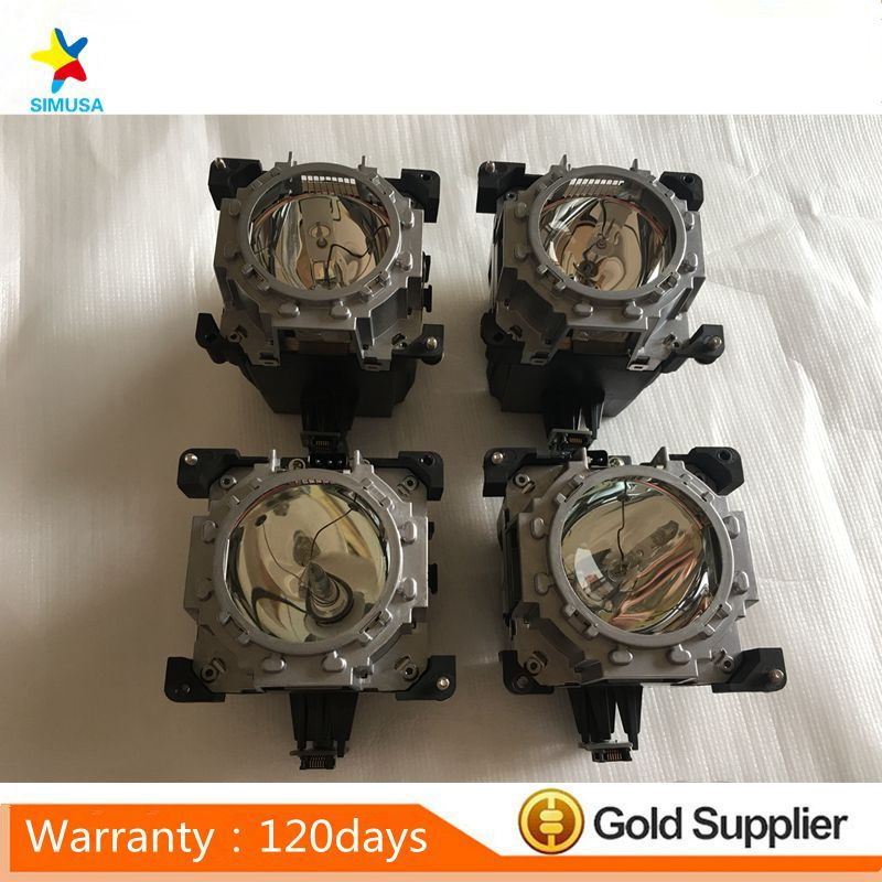 4PCS Original ET LAD510 bulb Projector lamp with housing fits for Panasonic PT DS20K PT DW17K