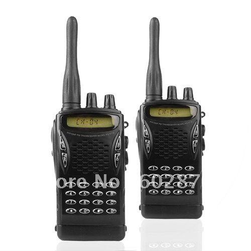 professional walkie talkie set uhf fm transceiver transmission range of up to 5km in walkie