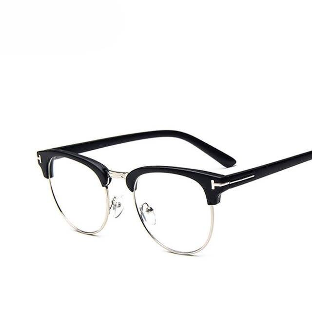 23d6a1b79a5 placeholder Brand Design Eyewear Frames eye glasses frames for Women Men  Male Eyeglasses Mirror Ladies Eyeglass Plain