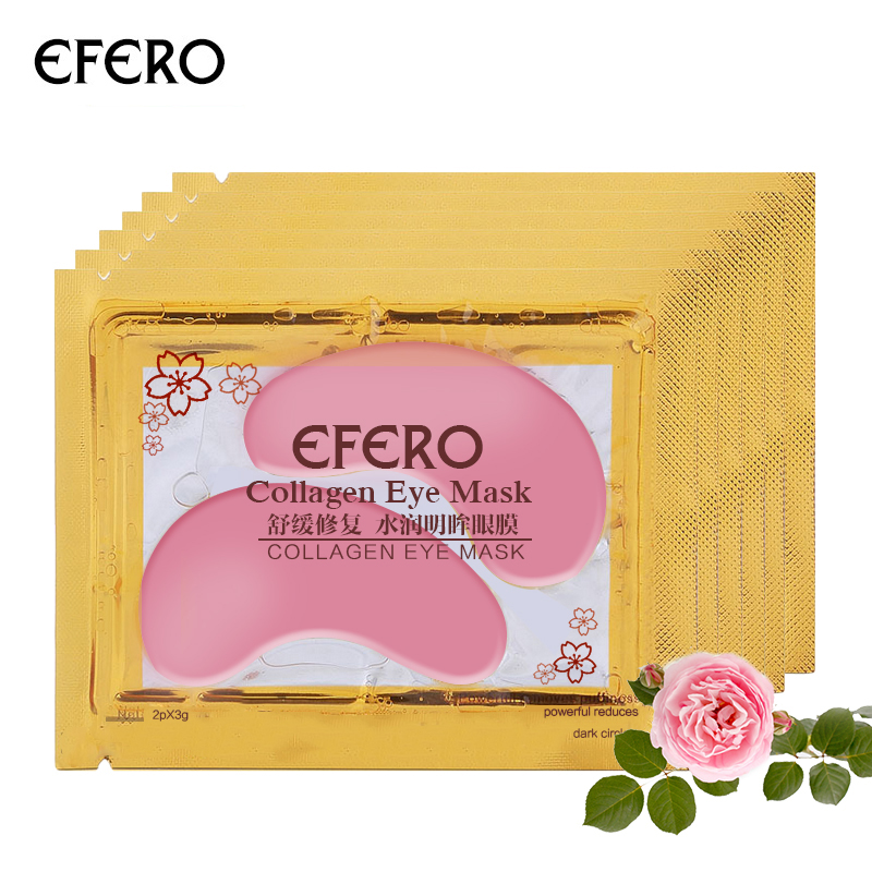 efero 8pair Eye Mask Anti Aging Anti puffiness Patches for