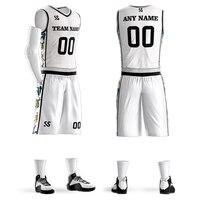 Wholesale Adult Child Kids Basketball Jerseys Custom College Basketball Suits Shirts Shorts Digital Sublimation Printing