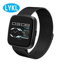 LYKL G12 Смарт-часы Калорий, Шагомер монитор сердечного ритма Мульти Спорт IP67 жизни Водонепроницаемый спортивные часы Для мужчин Для женщин для IOS Android